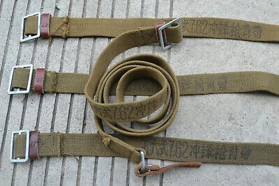 Chinese Military Surplus Type 56 AK 7.62 Canvas Web Sling Marked  9#