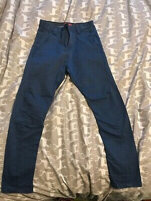 NEXT Boys Age 10 Years Blue Trousers/ Chinos