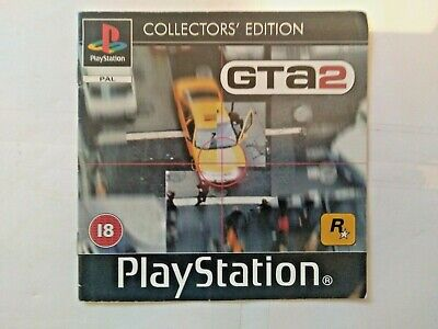 Grand Theft Auto 2 GTA2 Collector's Edition Instruction Manual PAL PlayStation 1