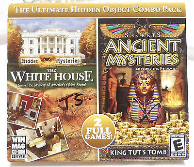 Lost Secrets Hidden Mysteries The White House & Ancient Mysteries PC CD Game