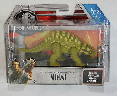 Jurassic Park World Minmi Attack Pack Dinosaur Action Figure MOC 2017