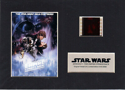 The Phantom Menace Filmcell holographic serial numbered Star Wars Episode I