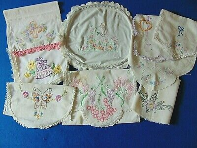 Lot of 9 pieces Cutter for CRAFTS Embroidered Runners Toppers Belle~Basket etc