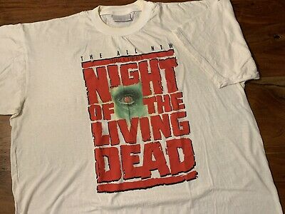 Night of the Living Dead George Romero Zombie Dawn Day Walking Dead Shirt NFT145