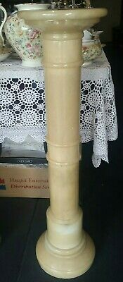 Vintage Marble Pedestal/flowers stand solid and heavy( 92cm height )
