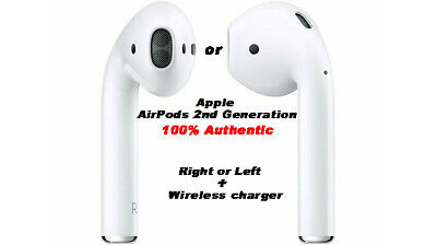 "NEW 2nd Generation Wireless 100% Genuine Apple AirPod Replace ""Sold Separately"""