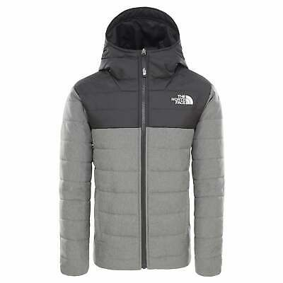 The North Face Rev Perrito Boys Jacket Down - Tnf Medium Grey Heather All Sizes