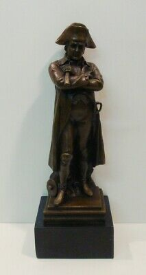 Signed Bronze French Style Napoleon Sculpture Statue
