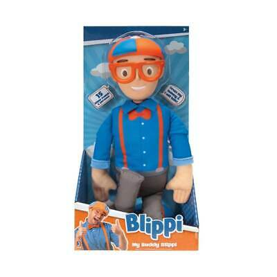 "BLIPPI - My Buddy Blippi Talking 16"" Plush with Sounds Effects"