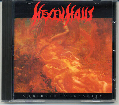 """Hexenhaus """"A Tribute To Insanity"""" 1988, CD"""