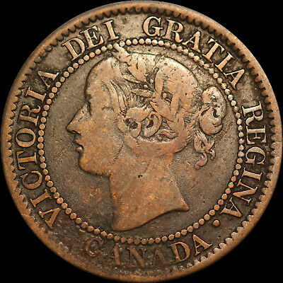 1859  D/P 9 # 3 Large Canadian Cent  Haxby PC59-228 74+P12a Scarce Die Pair R4