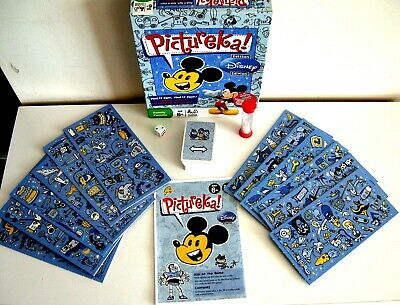 Pictureka! Disney Edition Game - Find It Fast, Find It First! - 2009 - Complete