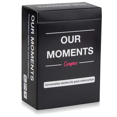 OUR MOMENTS Couples:100 Thought Provoking Conversation Starters  Relationships