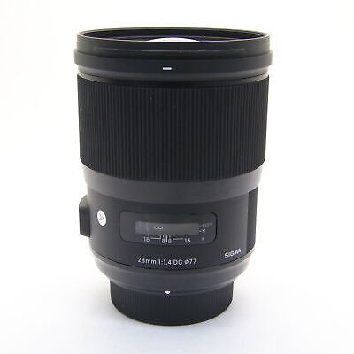 SIGMA Art 28mm F/1.4 DG HSM (for Nikon F mount) -Near Mint- #243