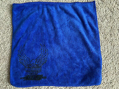 Harley Davidson 115th Anniversary Blue Towel LIMITED EDITION