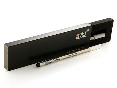 Montblanc Fineliner Pen Mystery Black Color Medium Size Refill
