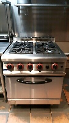 Four Burner Stove With Oven