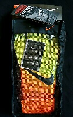 Nike Vapor Grip 3 Orange/Volt Top Pro Soccer Goal Keeper Gloves sizes 6,7,8,9,10
