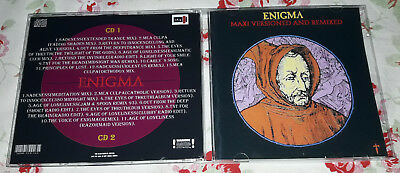 Enigma MICHAEL CRETU Maxi Versioned and Remixed-Maxis collection 2 CDs FAN edt