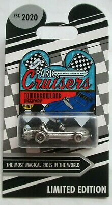 DISNEY - 2020 Park Cruisers Tomorrowland Speedway Pin - LE2000