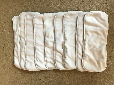 Lot of 9 gDiaper cloth inserts, Size M/L/XL