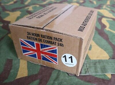 British army 24 hour ration pack FOOD MILITARY MEAL MRE types from 10-20