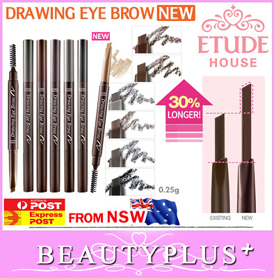Etude House Drawing Eye Brow NEW All Colors Eyebrow Pencil Stick Liner Increased