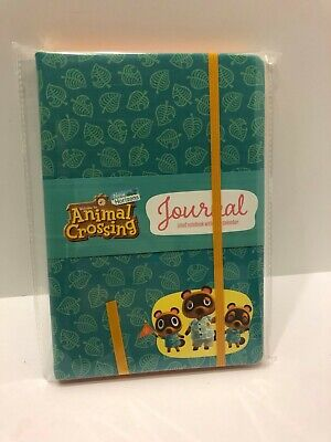 Animal Crossing: New Horizons Switch Journal Leather Notebook Note Pad Calendar