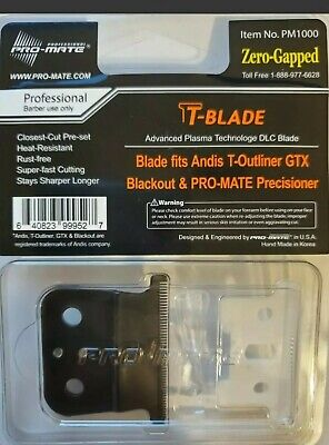Pro-mate Andis T-Outliner Blade Deep Tooth Zero-Gap w/New Ceramic Cutter (Smooth