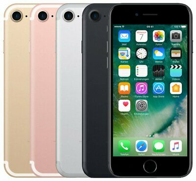 Apple Iphone7 32Gb, 128Gb,256Gb Schwarz Silber Rose Gold Jet Black Diamant Rot