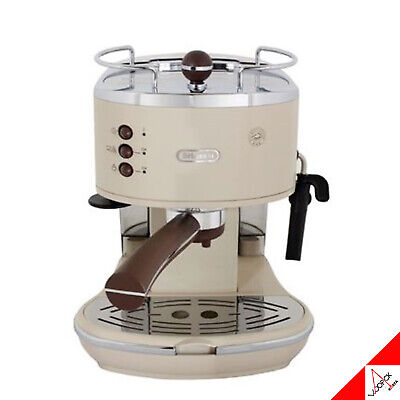 Delonghi Icona Vintage ECO V311 Espresso Coffee Maker Machine Beige 220V/1100W