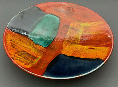 """Poole Studio Pottery 10,1/4"""" Charger / Dish."""