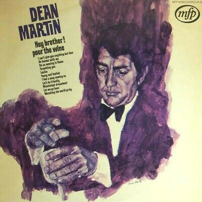 Dean Martin - Hey Brother! Pour The Wine (LP, Comp)