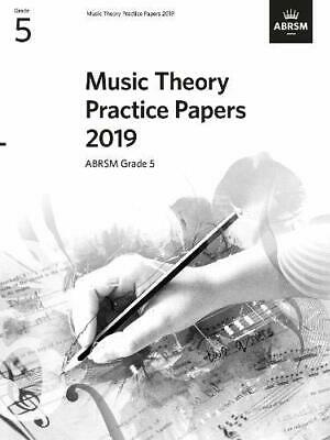 Music Theory Practice Papers 2019 ABRSM Grade 5 by ABRSM Sheet music NEW Book