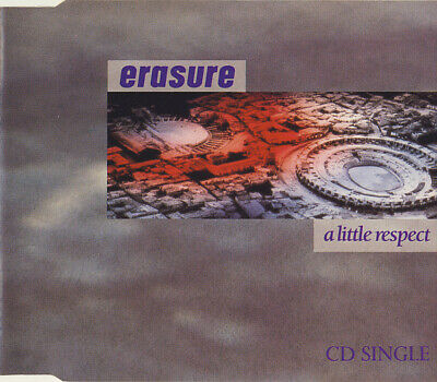 Erasure - A Little Respect (CD, Single)