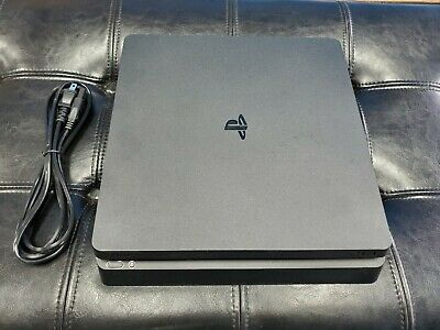 Playstation 4 PS4 Slim Console Only 500GB - Console + Power Cord ONLY