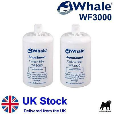 Whale WF3000 Water Filter x 2 Whale Aquasmart Filter