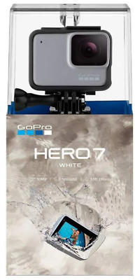 GoPro HERO7 White (was­ser­dich­te digitale Touch­screen Ac­tioncam)