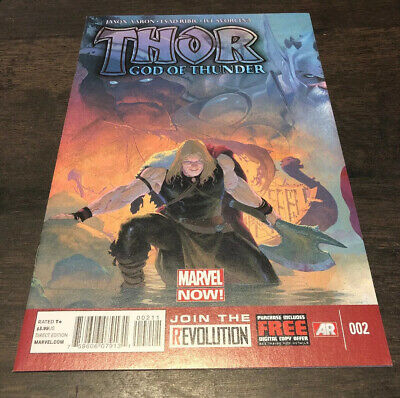 Thor God Of Thunder 2 Marvel Comic 1St Gorr Necrosword Symbiote Venom 2013