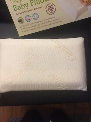 Cleva Mama Supporting Baby Pillow Bedtime 0+ Used