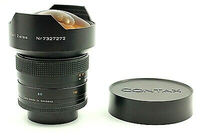 """ Near MINT ""  Contax Distagon T* 15mm f3.5 AEG Carl Zeiss Prime Lens from JAPAN"