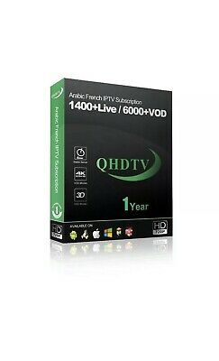 abonnement Qhdtv 1 An / One Year Qhdtv