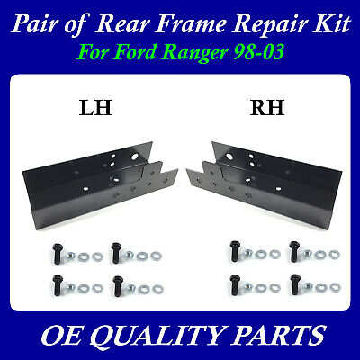 Pair Of Rear LH & RH  Frame Repair Kit For 98-03 Ford Ranger 523-204 523-203