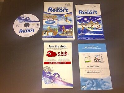 Nintendo Wii Sports Resort complete game, case and manual excellent condition❗️