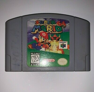 Super Mario 64 (Nintendo 64, 1996) N64 - Authentic Cart Only