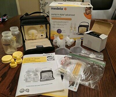 DISCOUNTED!! Medela Pump-In-Style-Advanced Double Breast Pump Starter Set