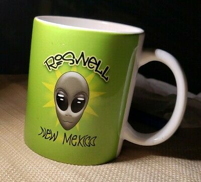 ALIEN UFO Roswell New Mexico Coffee/Tea Space Mug V5