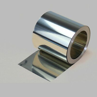 Stainless Steel Metal Thin Foil Plate For Metalworking Welding 0.1X300X2500mm
