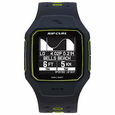 Rip Curl Search Gps Series 2 Unisexe Montre - Yellow Une Taille