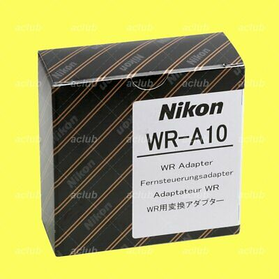 Genuine Nikon WR-A10 Wireless Remote Adapter for D5 D4 D3 D850 D810 D800 F6 F100